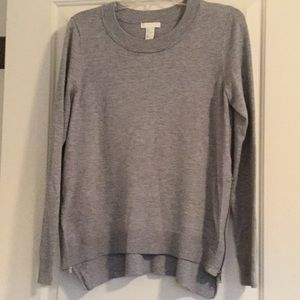 H&M pullover sweater with side zippers